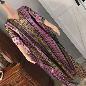 💜Wimlan Purple Maxi Caftan